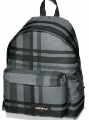 Eastpak-Padded-Pak-R-Checkci grey
