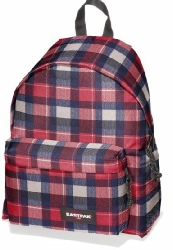 eastpak-Padded-Pak-r-carreaux-rouge