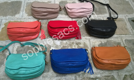 b64030488993 ... sac femme couleurs 2014 mini besace cuir ...