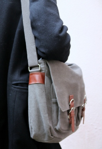 sac toile homme