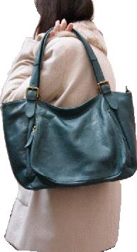 f859124f1b sac femme en cuir souple. Modèle Doris